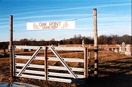 OAK POINT, CEMETERY - Van Buren County, Iowa | CEMETERY OAK POINT
