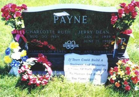 PAYNE, JERRY DEAN - Van Buren County, Iowa | JERRY DEAN PAYNE