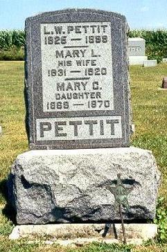 PETTIT, MARY C. - Van Buren County, Iowa | MARY C. PETTIT