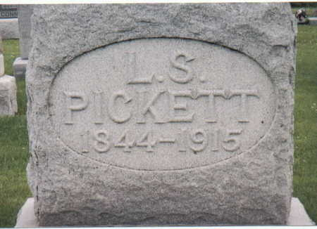 PICKETT, L. S. - Van Buren County, Iowa | L. S. PICKETT