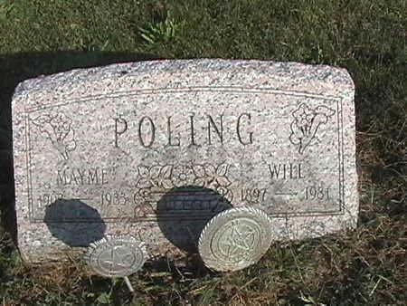 COOK POLLING, MAYME - Van Buren County, Iowa | MAYME COOK POLLING