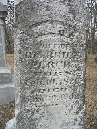 PURCIL, MARY - Van Buren County, Iowa | MARY PURCIL