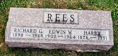 REES, HARRY - Van Buren County, Iowa | HARRY REES