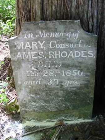 RHOADES, MARY - Van Buren County, Iowa | MARY RHOADES