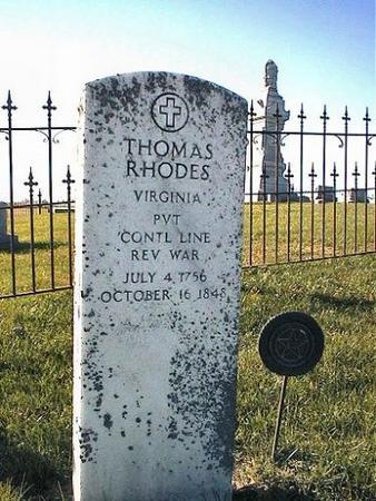 RHODES, THOMAS - Van Buren County, Iowa   THOMAS RHODES