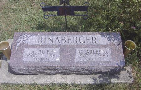 MCCONNEL RINABERGER, A. RUTH - Van Buren County, Iowa | A. RUTH MCCONNEL RINABERGER