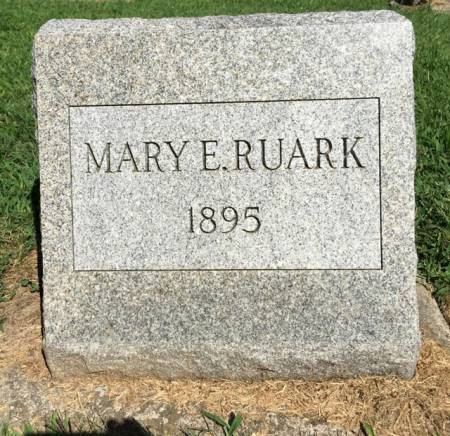 RUARK, MARY E. - Van Buren County, Iowa | MARY E. RUARK
