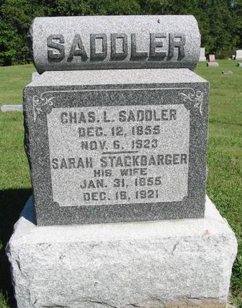 SADDLER, CHAS. L. - Van Buren County, Iowa | CHAS. L. SADDLER