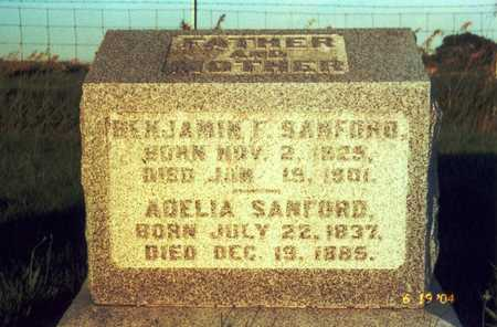 GRAVES SANFORD, ADELIA - Van Buren County, Iowa | ADELIA GRAVES SANFORD
