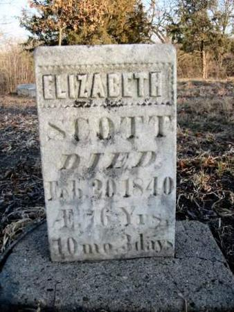 SCOTT, ELIZABETH - Van Buren County, Iowa | ELIZABETH SCOTT