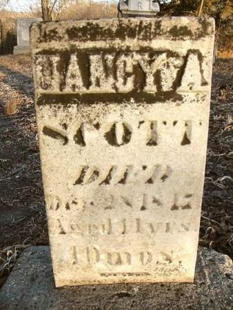 SCOTT, NANCY A. - Van Buren County, Iowa | NANCY A. SCOTT