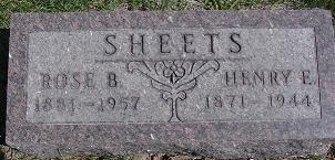 WATKINS SHEETS, ROSABEL - Van Buren County, Iowa | ROSABEL WATKINS SHEETS