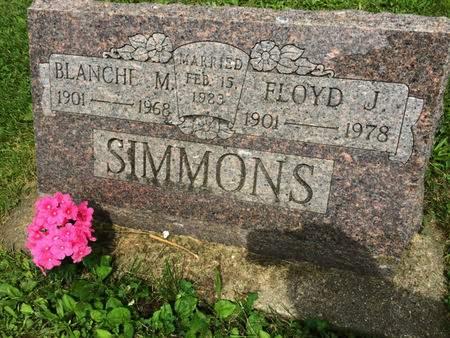 SIMMONS, BLANCHE M. - Van Buren County, Iowa | BLANCHE M. SIMMONS