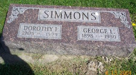 WARNER SIMMONS, DOROTHY - Van Buren County, Iowa | DOROTHY WARNER SIMMONS