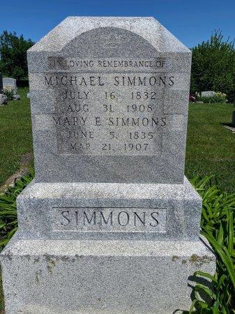 SIMMONS, MARY ELLEN - Van Buren County, Iowa | MARY ELLEN SIMMONS