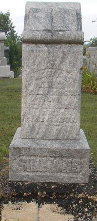 CUMMINGS SIMMONS, MARY M. - Van Buren County, Iowa | MARY M. CUMMINGS SIMMONS
