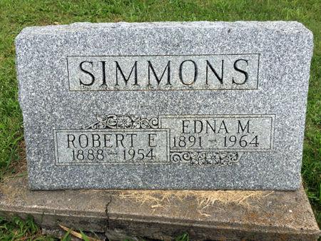 RABE SIMMONS, EDNA M. - Van Buren County, Iowa | EDNA M. RABE SIMMONS