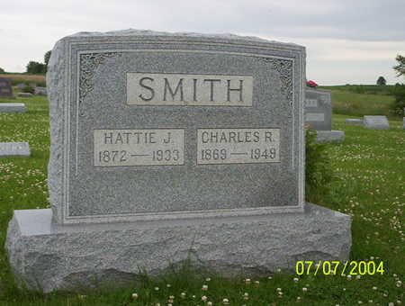 SMITH, HATTIE J - Van Buren County, Iowa | HATTIE J SMITH