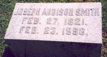 SMITH, JOSEPH ADDISON - Van Buren County, Iowa | JOSEPH ADDISON SMITH