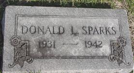 SPARKS, DONALD - Van Buren County, Iowa | DONALD SPARKS