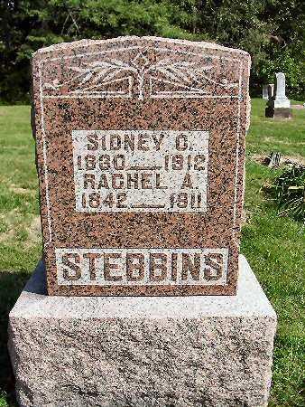BARTON STEBBINS, RACHEL A. - Van Buren County, Iowa | RACHEL A. BARTON STEBBINS