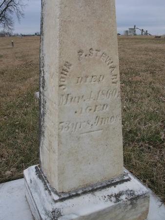 STEWART, JOHN P. - Van Buren County, Iowa | JOHN P. STEWART