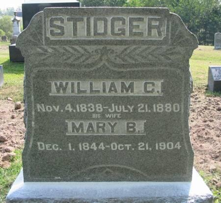 STIDGER, MARY B. - Van Buren County, Iowa | MARY B. STIDGER