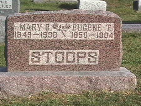 STOOPS, EUGENE - Van Buren County, Iowa | EUGENE STOOPS