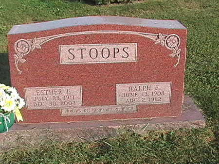 STOOPS, ESTHER - Van Buren County, Iowa | ESTHER STOOPS