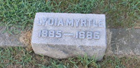 STORY, LYDIA MYRTLE - Van Buren County, Iowa | LYDIA MYRTLE STORY