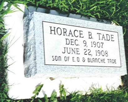 TADE, HORACE B. - Van Buren County, Iowa | HORACE B. TADE
