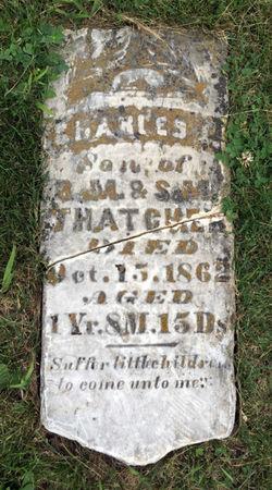 THATCHER, CHARLES J. - Van Buren County, Iowa | CHARLES J. THATCHER
