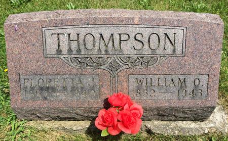 THOMPSON, FLORETTA J. - Van Buren County, Iowa | FLORETTA J. THOMPSON