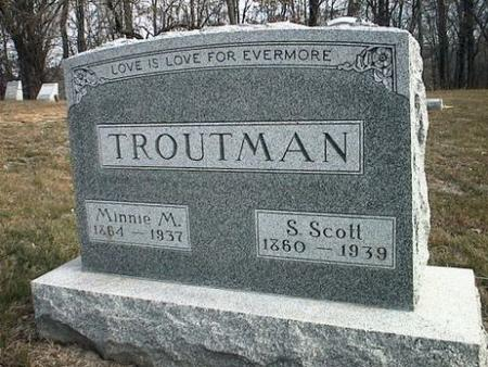 TROUTMAN, S. SCOTT - Van Buren County, Iowa | S. SCOTT TROUTMAN