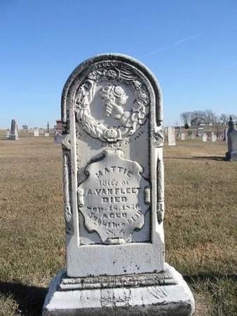 VAN FLEET, MATTIE - Van Buren County, Iowa | MATTIE VAN FLEET