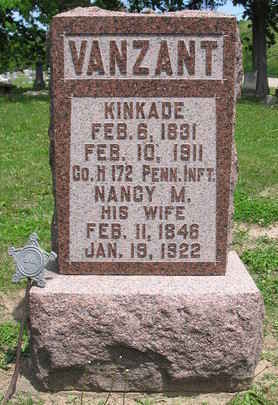 VANZANT, NANCY M. - Van Buren County, Iowa | NANCY M. VANZANT