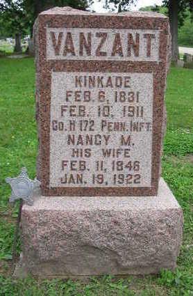 VAN ZANT, NANCY M. - Van Buren County, Iowa | NANCY M. VAN ZANT
