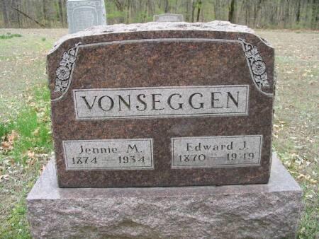 VON SEGGEN, JENNIE M. - Van Buren County, Iowa | JENNIE M. VON SEGGEN