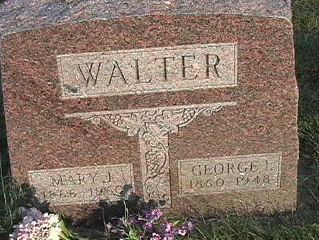 WALTER, MARY J. - Van Buren County, Iowa | MARY J. WALTER