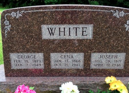 WHITE, GEORGE - Van Buren County, Iowa | GEORGE WHITE