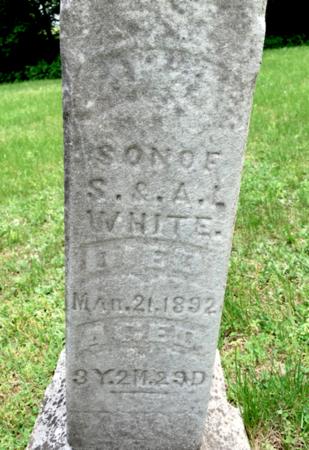 WHITE, JAMES - Van Buren County, Iowa   JAMES WHITE