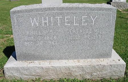MILLS WHITELEY, GERTRUDE - Van Buren County, Iowa | GERTRUDE MILLS WHITELEY