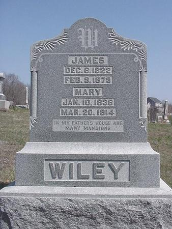 WILEY, JAMES - Van Buren County, Iowa | JAMES WILEY
