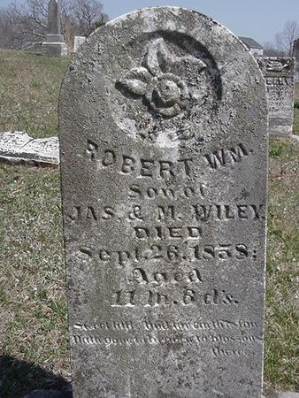 WILEY, ROBERT - Van Buren County, Iowa | ROBERT WILEY