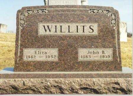 WILLITS, ELIZA - Van Buren County, Iowa | ELIZA WILLITS