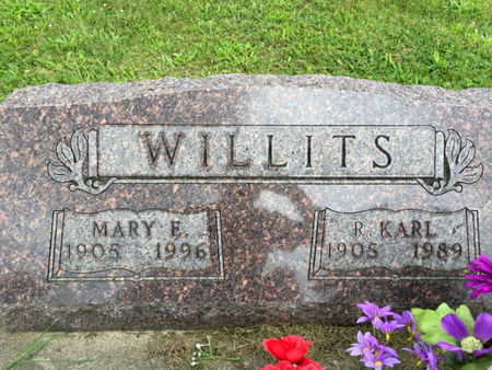 WILLITS, MARY E. - Van Buren County, Iowa | MARY E. WILLITS