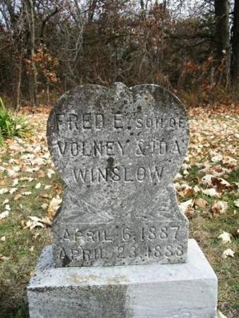 WINSLOW, FRED E. - Van Buren County, Iowa | FRED E. WINSLOW