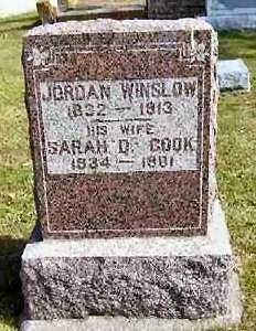 WINSLOW, SARAH D. - Van Buren County, Iowa | SARAH D. WINSLOW