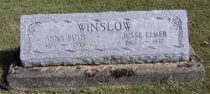 BROOKS WINSLOW, ANNA RUTH - Van Buren County, Iowa | ANNA RUTH BROOKS WINSLOW