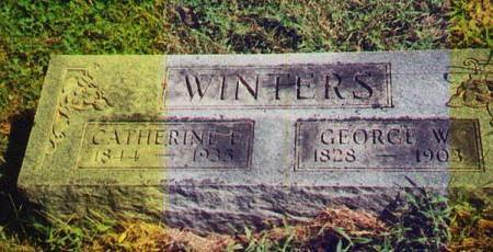 WINTERS, CATHERINE - Van Buren County, Iowa | CATHERINE WINTERS